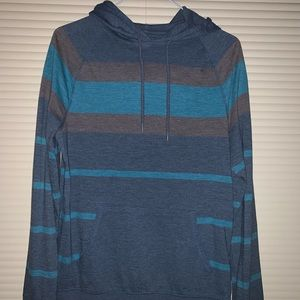 Mission Supply Striped Hoodie Shirt